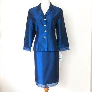 Jessica Howard Formal Dress Skirt Suit